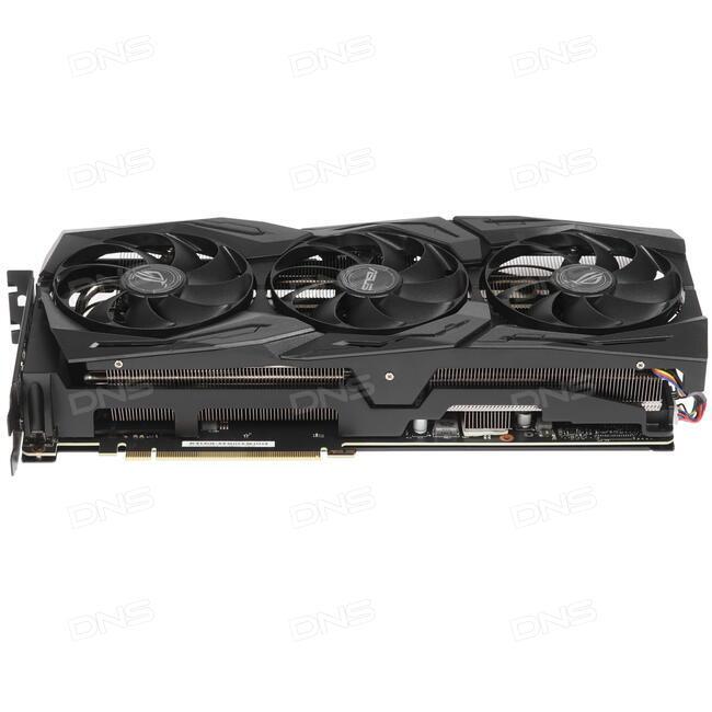 Купить Видеокарта ASUS GeForce RTX 2080 STRIX [ROG-STRIX-RTX2080-8G-GAMING]  в интернет магазине DNS