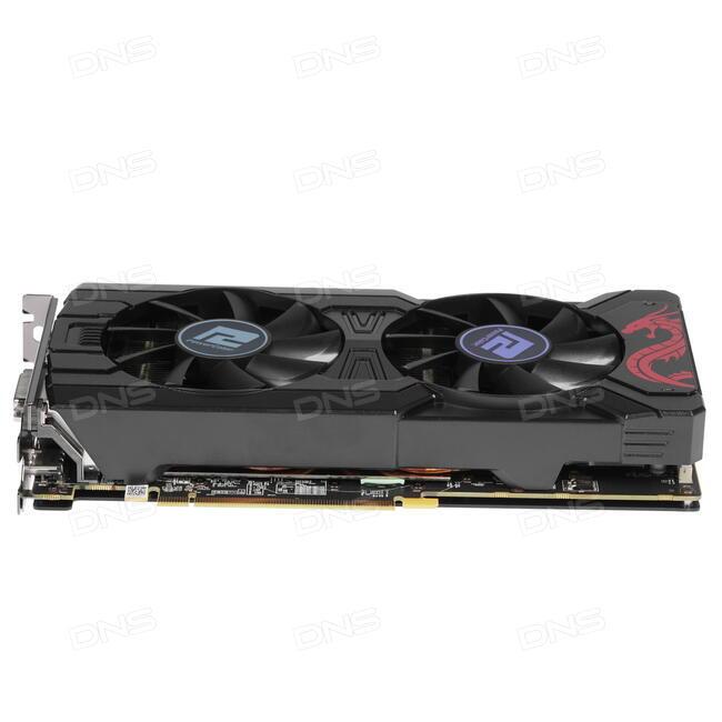 Видеокарта PowerColor AMD Radeon RX 570 Red Dragon OC  AXRX 570 4GBD5-3DHD  27bed556998