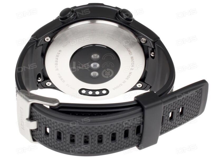 Купить Смарт-часы Huawei Watch 2 Sport ремешок - черный в интернет ... 1f856a03e8c