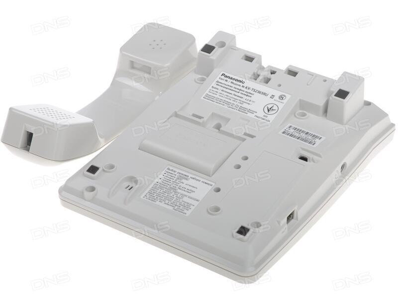 Инструкция на телефон panasonic kx t2365ruw