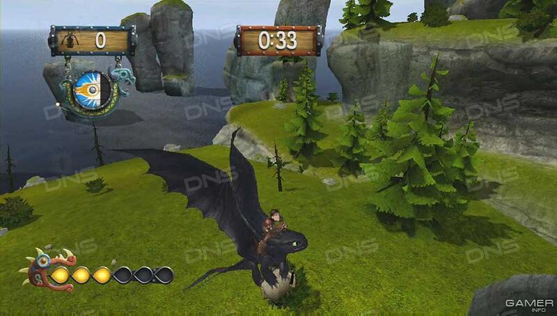Комп.игра как приручить дракона 3д