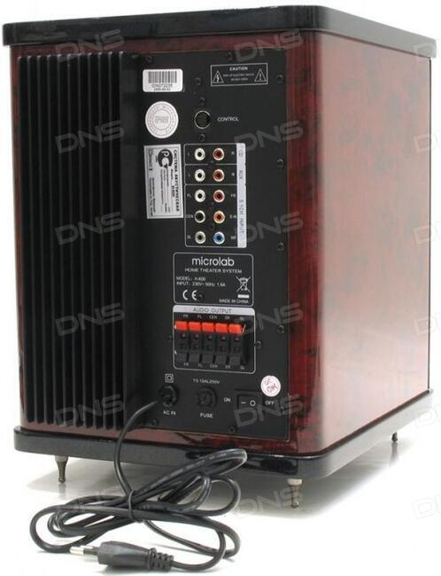 отзывы покупателей о колонки 51 Microlab H600 интернет магазин Dns
