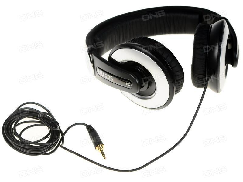 Купить Наушники Sennheiser HD 205 черный в интернет магазине DNS ... 09b384a744a8d