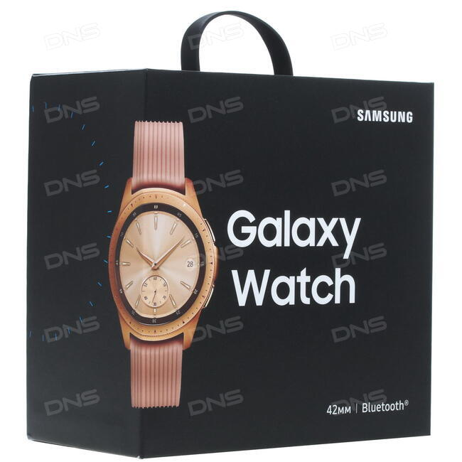 Купить Смарт-часы Samsung Galaxy Watch Small ремешок - розовый в ... f73dd97124d7a