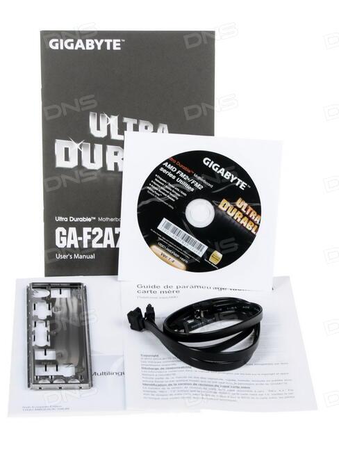 Купить Материнская плата GIGABYTE GA-F2A78M-DS2 в интернет магазине