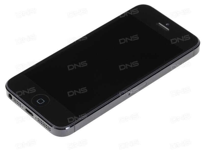 айфон 5с чёрный фото