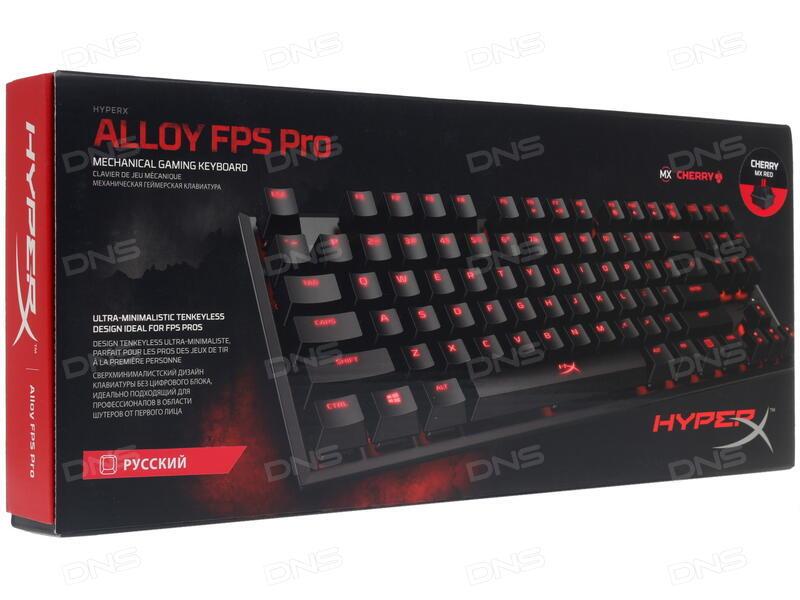 bca1b898101 Купить Клавиатура HyperX Alloy FPS PRO HX-KB4RD1-RU/R1 в интернет ...