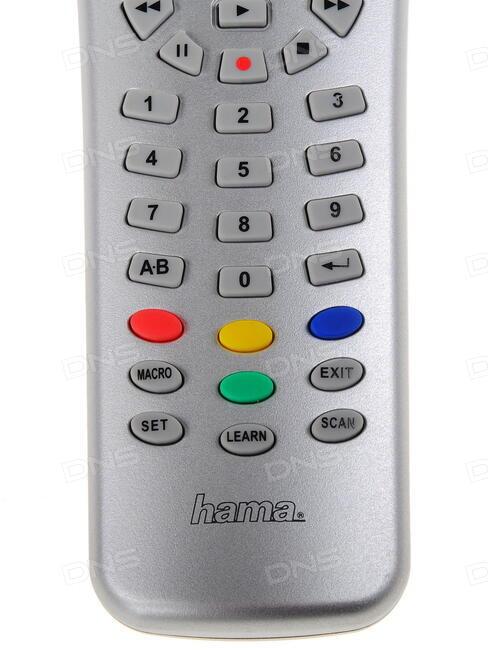 Инструкция пульт hama.