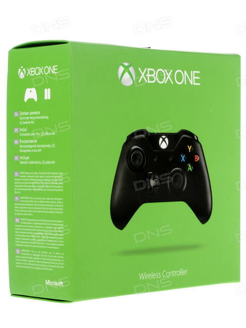 Геймпад Microsoft XBOX One Wireless Controller Black + Play and Charge kit EX7-00007