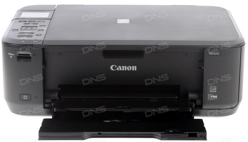 Скачать драйвера на принтер canon pixma mg4240