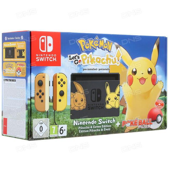 купить игровая приставка Nintendo Switch Let S Go Pikachu в