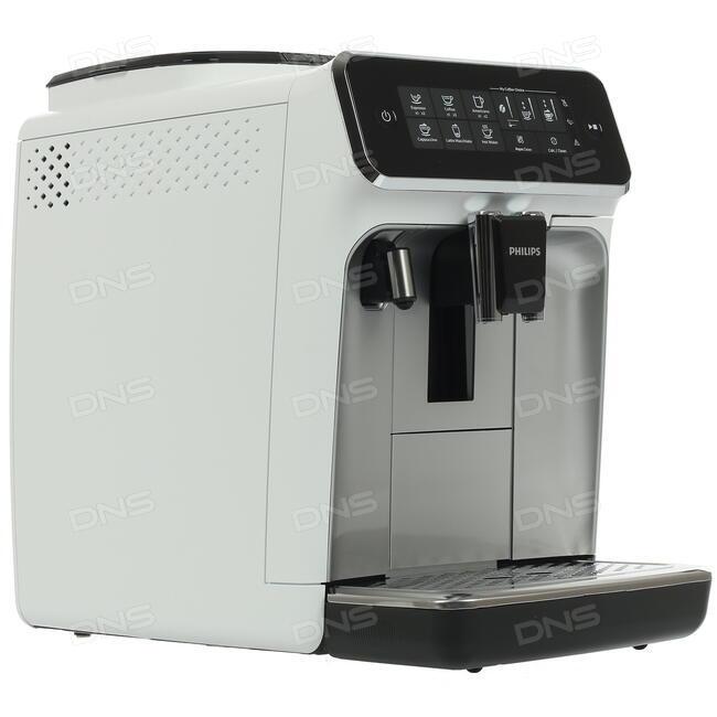 83a64a618c09c Купить Кофемашина Philips EP3243/70 Wt белый в интернет магазине DNS ...