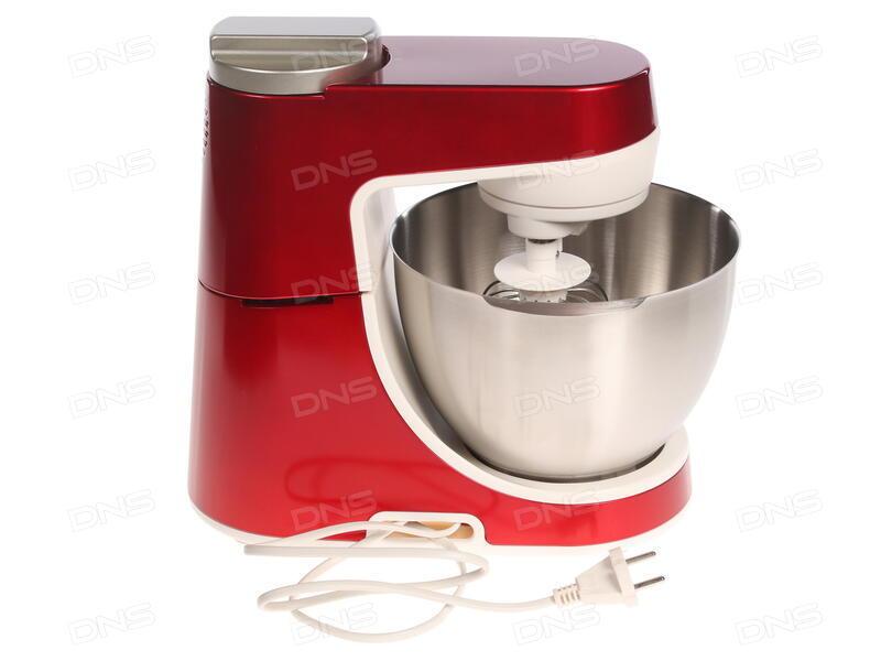 купить кухонный комбайн Moulinex Qa407g31 белый красный в интернет