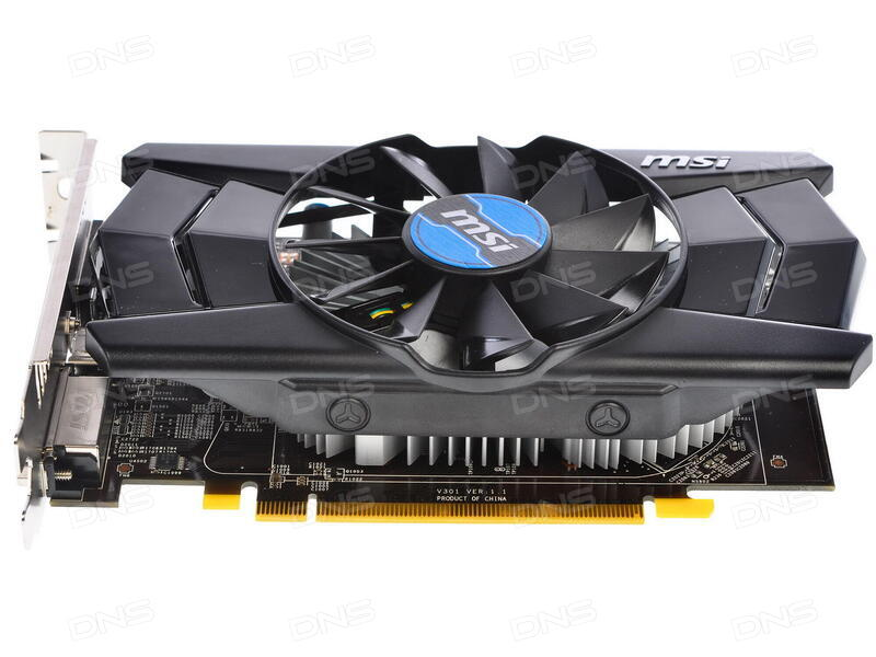 Купить Видеокарта MSI AMD Radeon R7 250 OC [R7 250 2GD3 OC