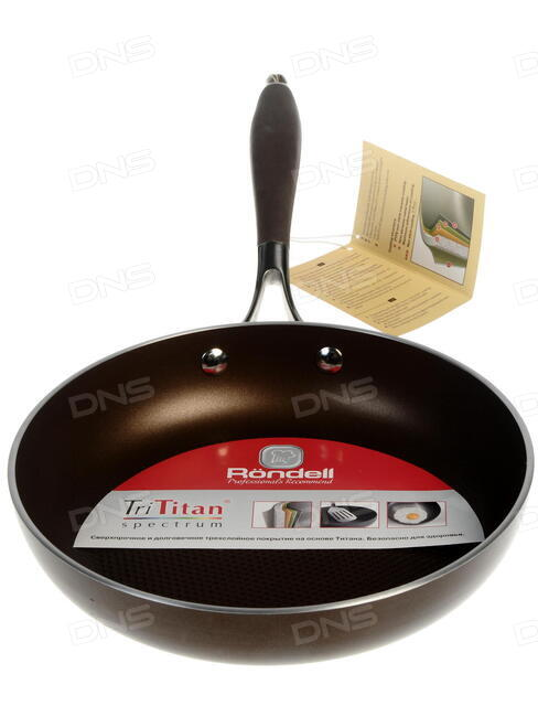 Сковорода рондел с титановым покрытием