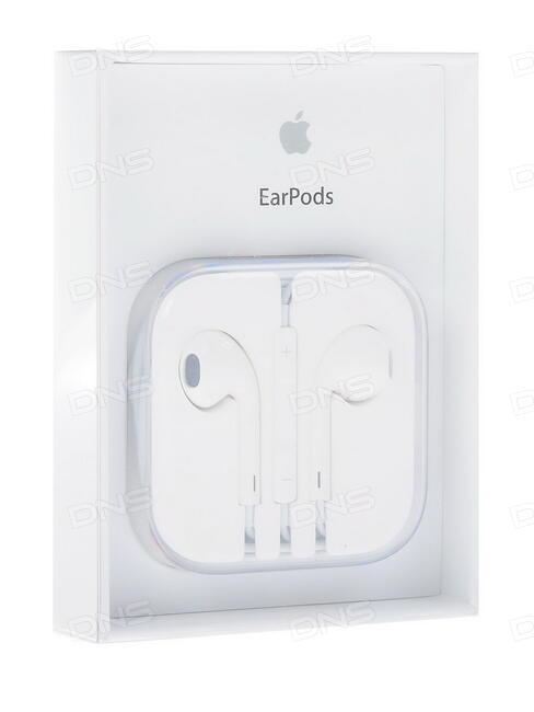 Купить Гарнитура проводная Apple EarPods (3.5 mm) белый в интернет ... 06ee2264c5582