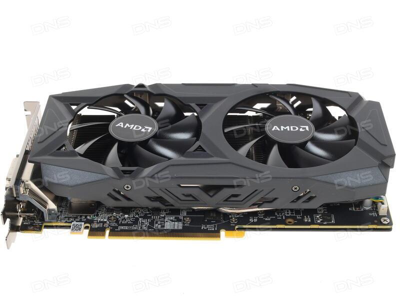 Купить Видеокарта PowerColor AMD Radeon RX 580 Red Dragon OC [AXRX 580  8GBD5-3DHDV2/OC] в интернет магазине DNS