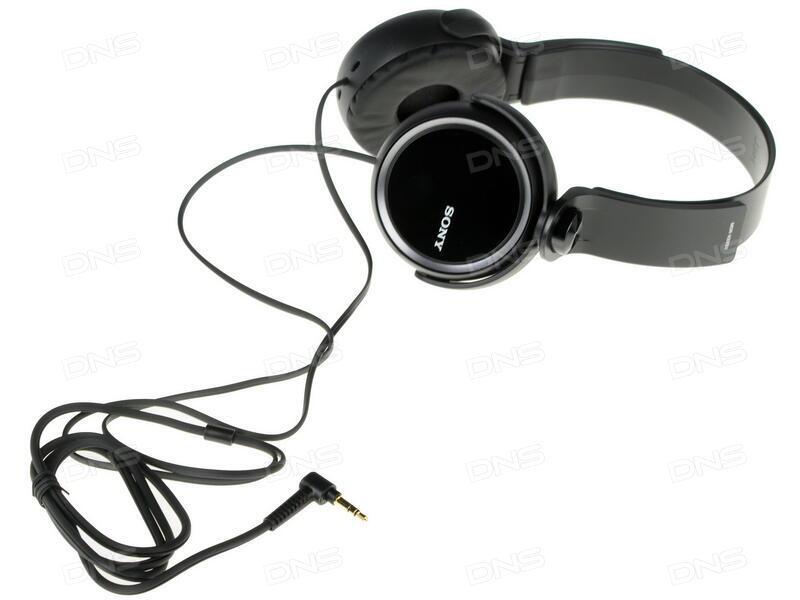 Купить Наушники Sony MDR-XB250 черный в интернет магазине DNS ... f8e2d9cff6fb1