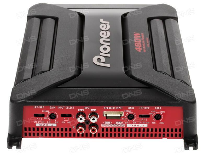 Усилитель Pioneer GM-A4604 GM-4604 - фото 4