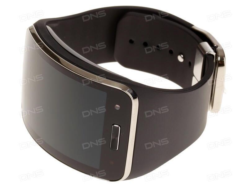 Купить Смарт-часы Samsung Gear S ремешок - черный в интернет ... f25d2e0d4db