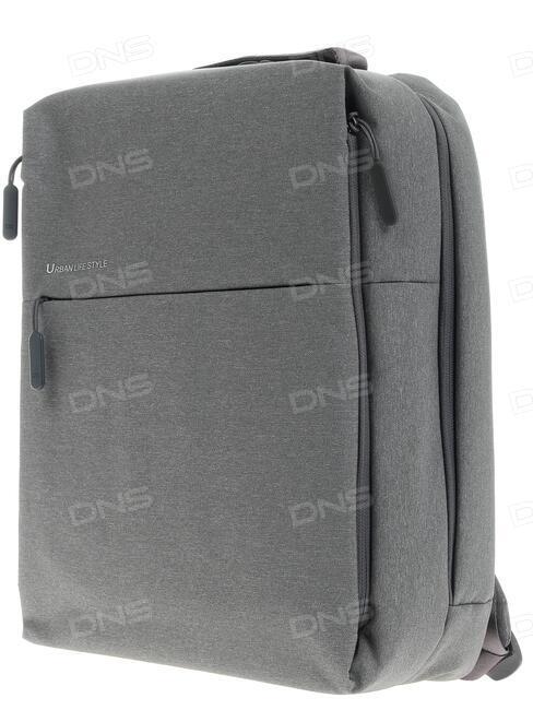 "3b2ac8e19ebb 14.1"" Рюкзак Xiaomi Mi Minimalist Backpack Urban Life Style серый"