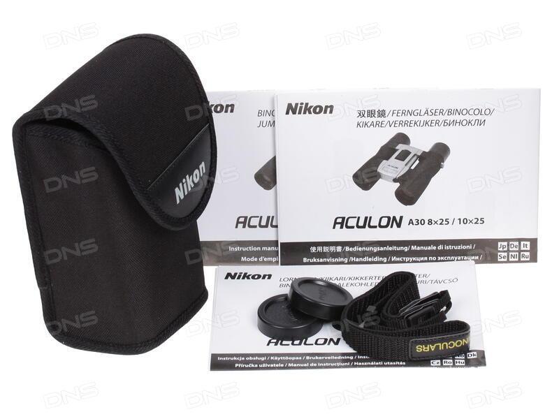 Купить Бинокль nikon aculon a в интернет магазине dns