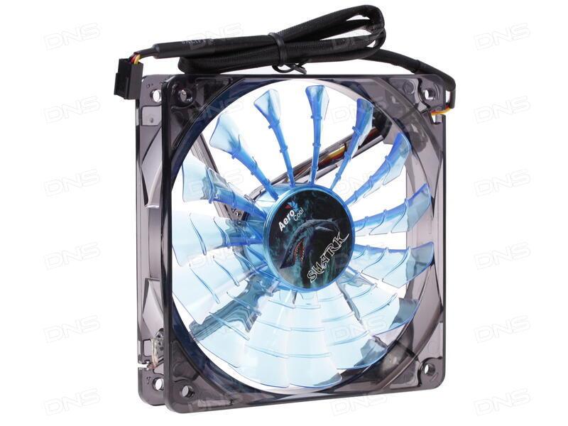Вентилятор Deepcool XFAN 200BL 200x200x32 3pin 26.3dB 700rpm 300g синий LED