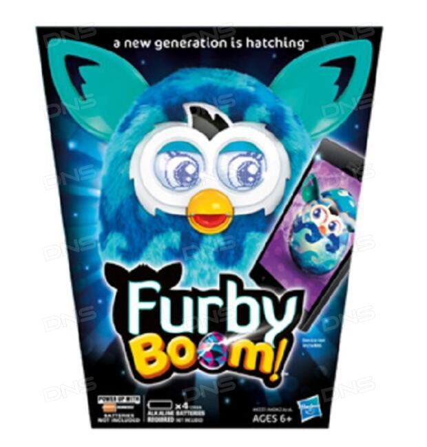 6513f917a4b4 Купить Интерактивная игрушка Hasbro Furby Boom Теплая волна в ...