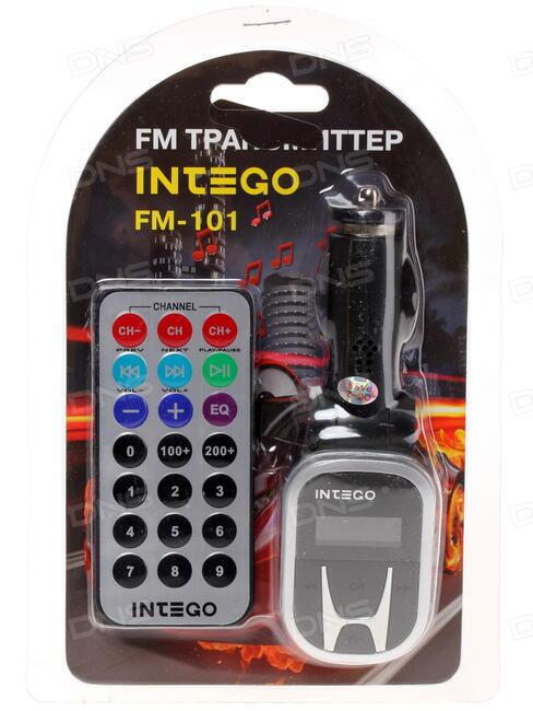 FM-трансмиттер с пультом ДУ Intego FM-101 - фото 10