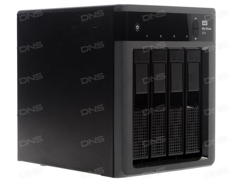 0416e3ad03d0 Купить Сетевое хранилище Western Digital My Cloud EX4 в интернет ...