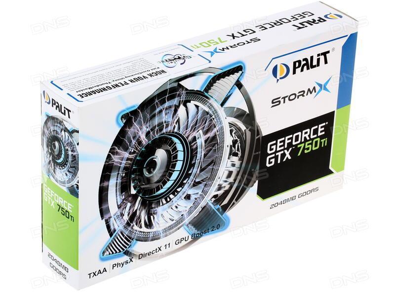 Отзывы покупателей о Видеокарта Palit GeForce GTX 750Ti STORMX OC