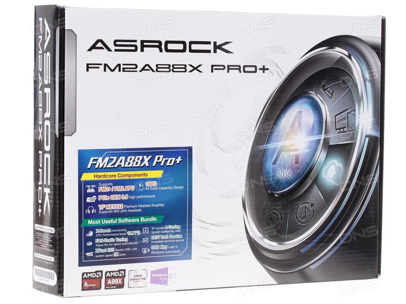 ASRock FM2A88X Pro+ New