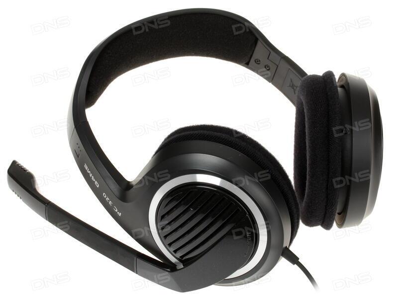 bf5c00ca58d Купить Наушники Sennheiser PC 320 G4ME черный в интернет магазине ...
