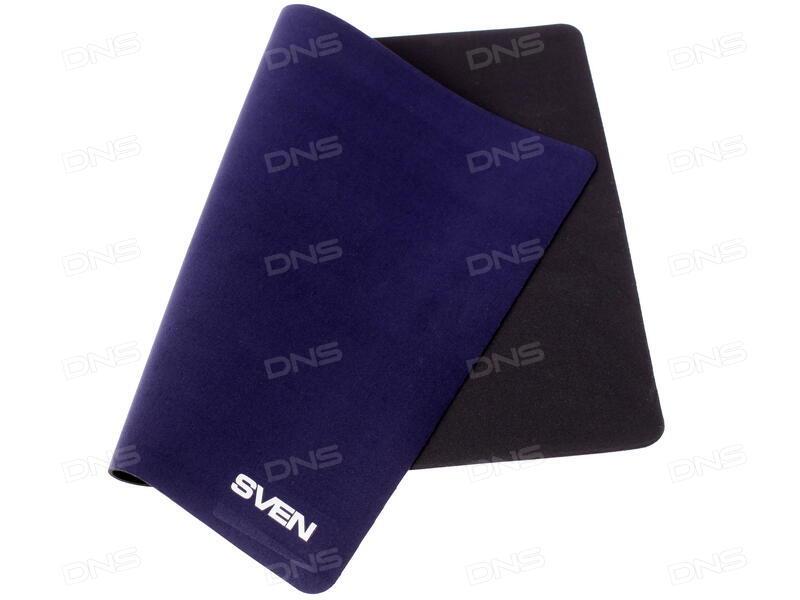 Коврик для мыши SVEN HC-01-03 черный 300х225х1,5 мм материал: микрофибра на прорезиненной основе