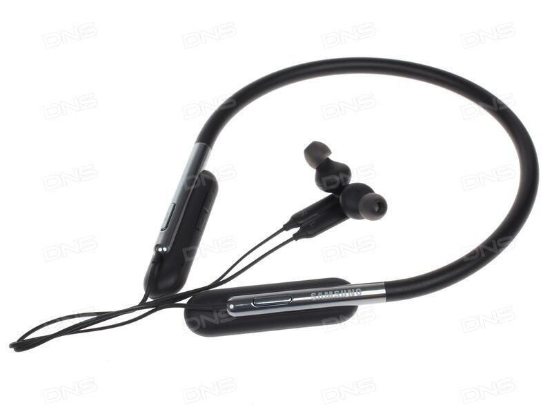 Купить Bluetooth стереогарнитура Samsung U Flex черный в интернет ... f38d684196853
