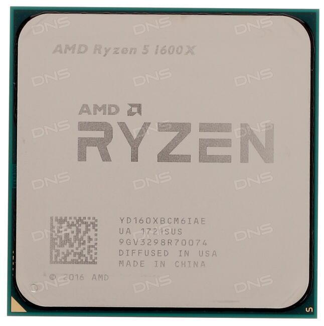 Комментарии Процессор AMD Ryzen 5 1600X BOX в интернет