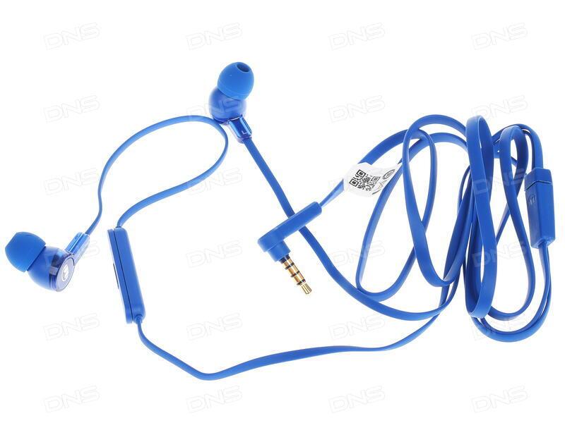 купить проводная стереогарнитура Honor Monster Am15 синий в интернет
