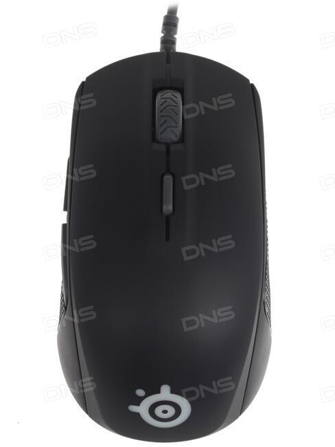 Купить Мышь проводная SteelSeries Rival 110 черный в интернет магазине DNS   Характеристики,