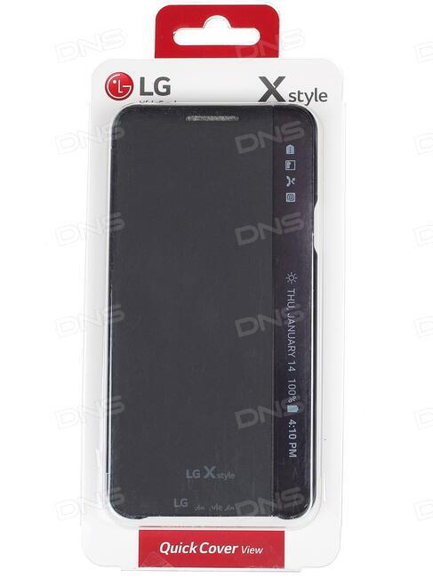 free shipping 621a9 e0234 Купить Чехол-книжка LG для смартфона LG X Style K200 в интернет ...