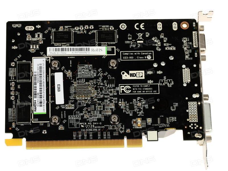 Технические характеристики Видеокарта Sapphire AMD Radeon R7