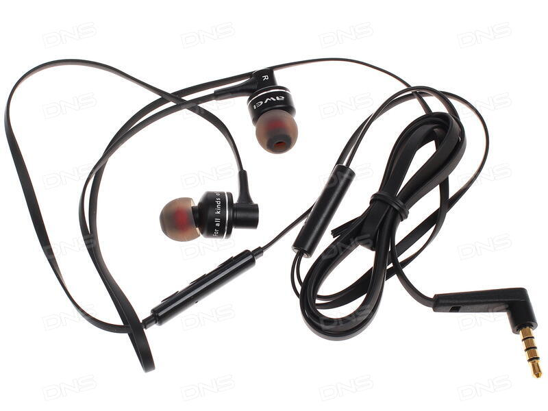 Купить Проводная стереогарнитура Awei ES-10TY черный в интернет ... ca4fc10121638