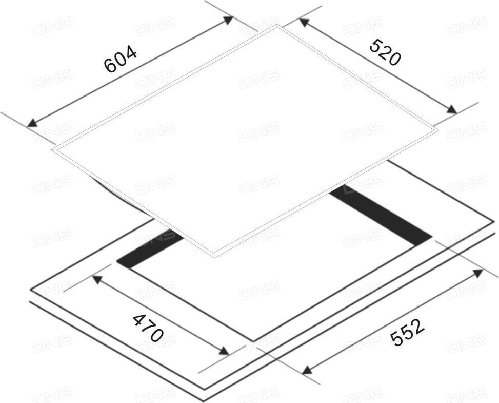 Варочная панель Zigmund & Shtain CNS 139.45 BX