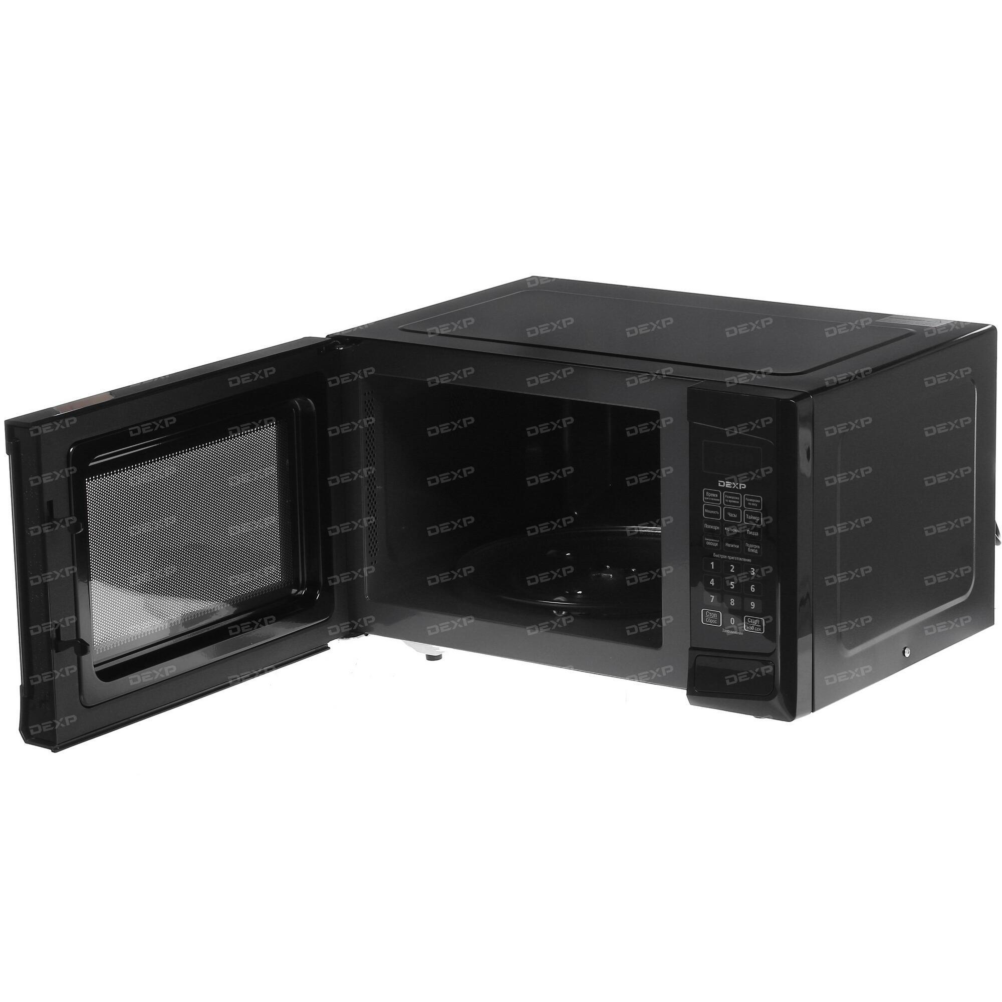 Микроволновая печь DEXP ES-90 белый, черный ...